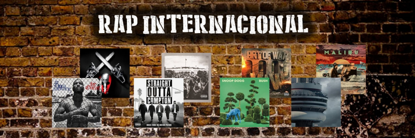 CD e Vinyl de Rap Internacional