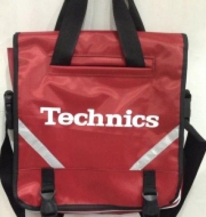 Nova Bag Technics com Faixa refletora (Vermelha)