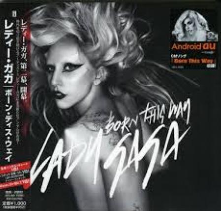 Lady Gaga - Born This Way CD SINGLE IMPORTADO JAPAN