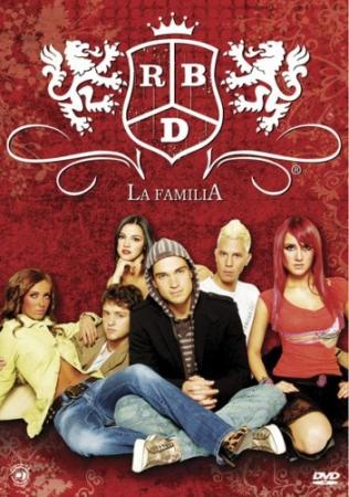 RBD Rebelde La Familia (import) 3 DVD IMPORTADO PRODUTO INDISPONIVEL