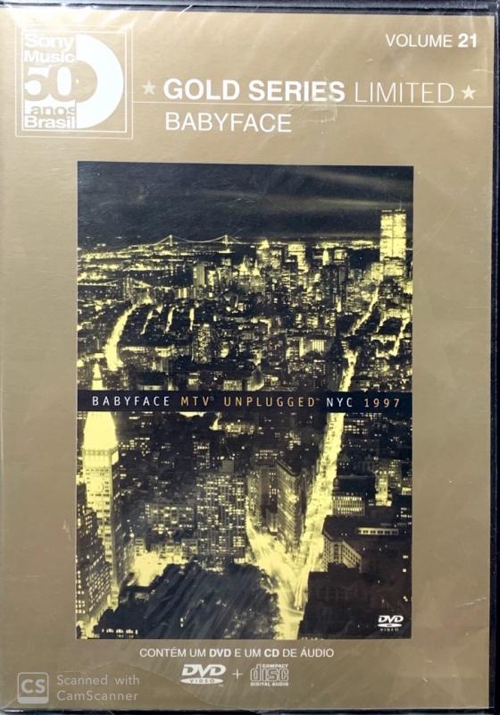 Babyface - MTV Unplugged Babyface Nyc 1997 CD E DVD (LACRADO)