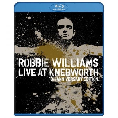 ROBBIE WILLIAMS Live At Knebworth 10th Anniversary Edition (Blu-ray)