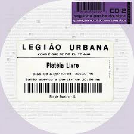CD Legião Urbana - Como é Que diz Eu Te Amo Vol. 2 ( Lacrado Digipack )