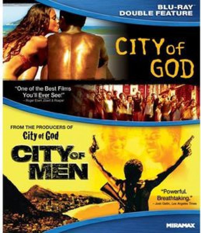 City of God/City of Men CIDADE DE DEUS - CIDADE DOS HOMES (Blu-ray) IMPORTADO