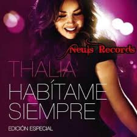 Thalia - Habítame Siempre DVD IMPORTADO