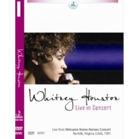 Whitney Houston - Live In Concert (DVD)