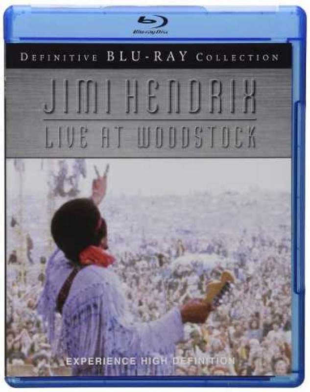 Blu-Ray Jimi Hendrix - Live At Woodstock