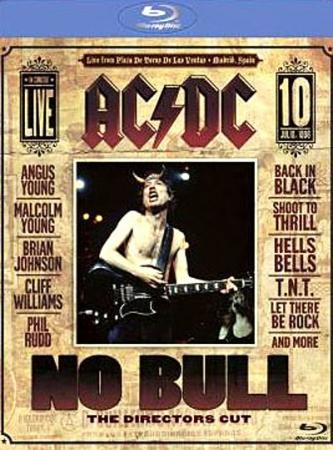 AC DC - No Bull The Directors Cut BLURAY