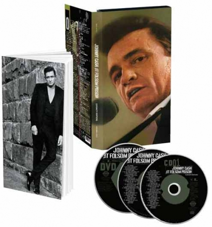 Box Johnny Cash - At Folsom Prison  (2CD/1 DVD)