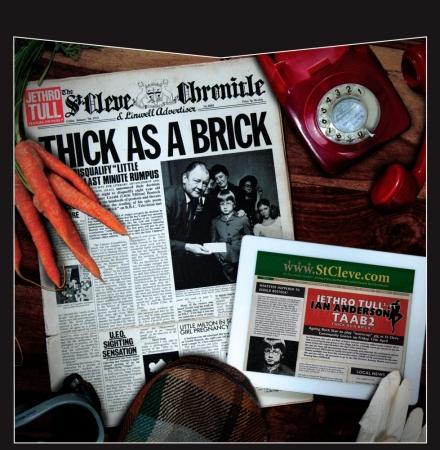 Lp Box Jethro Tull - Thick As A Brick 1 & 2