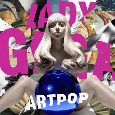 CD Lady Gaga ArtPop Standard Importado