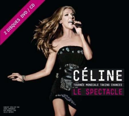 Céline Dion - Tournée Mondiale Taking Chances / Le Spectacle  ( CD + DVD )