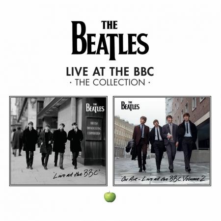 BOX Beatles - Live At The BBC The Collection 1 E 2 IMPORTADO 4 CDS  (LACRADO)