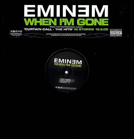 LP Eminem - When Im Gone