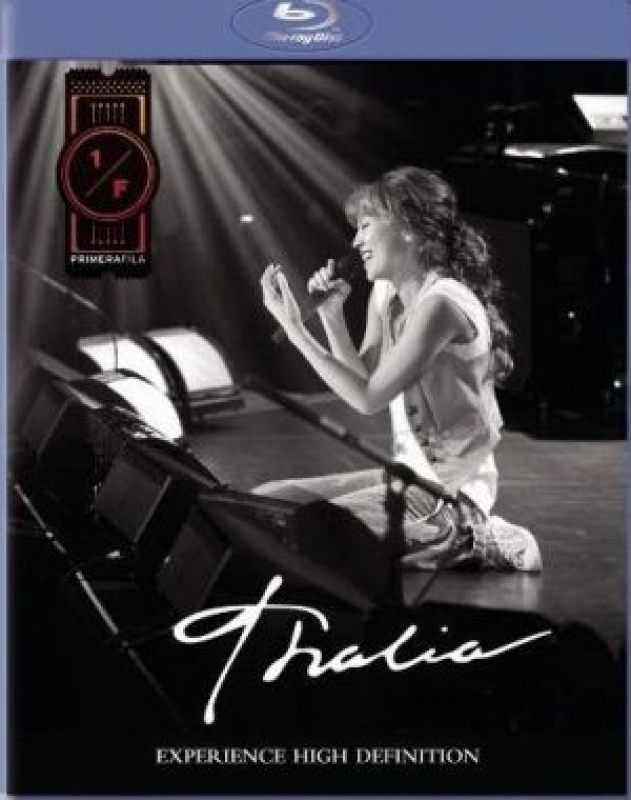 Thalia - Primera Fila ( BLURAY IMPORTADO )
