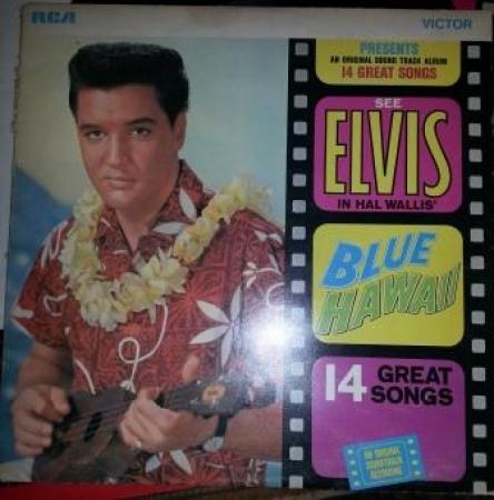 LP Elvis Presley - Blue Hawaii Lacrado Importado