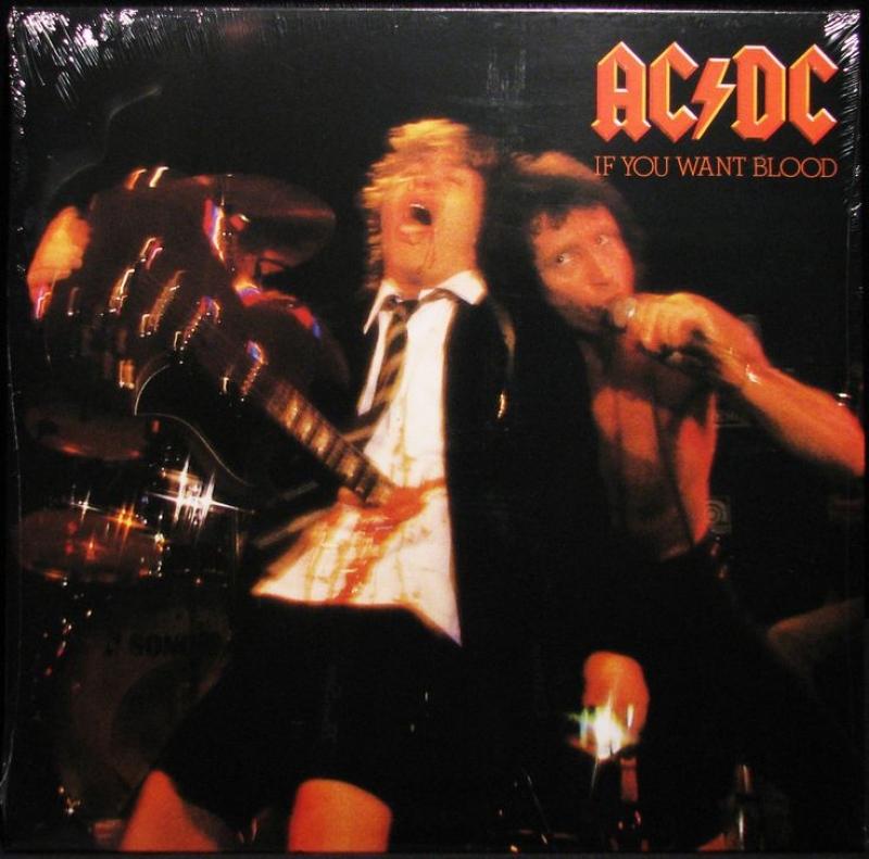 LP Ac/dc - If You Want Blood Youve Got It Lacrado E Importado