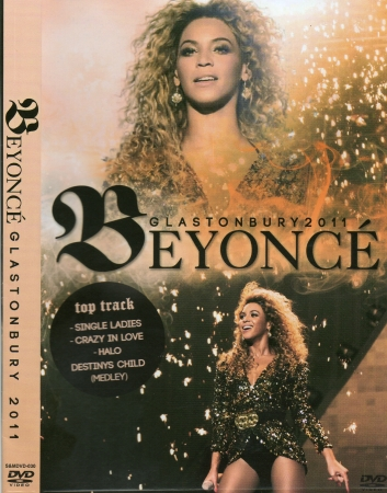 Beyonce - Live In Glastonbury DVD