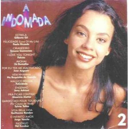 CD A INDOMADA 2 - TRILHA DA NOVELA DA GLOBO 1997