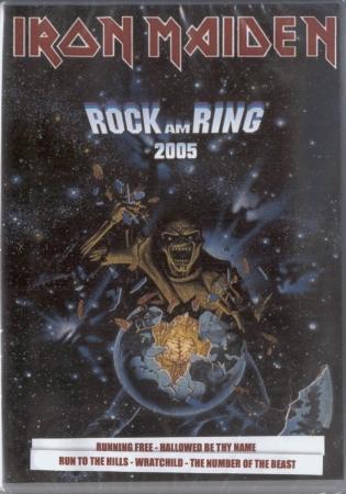DVD Iron Maiden - Rock Am Ring 2005
