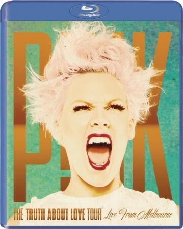 BLU RAY Pink - The Truth About Love Tour Live Melbourne IMPORTADO