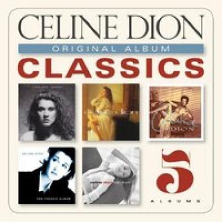 BOX Celine Dion - Original Album Classics  5 CDS IMPORTADO PRODUTO INDISPONIVEL