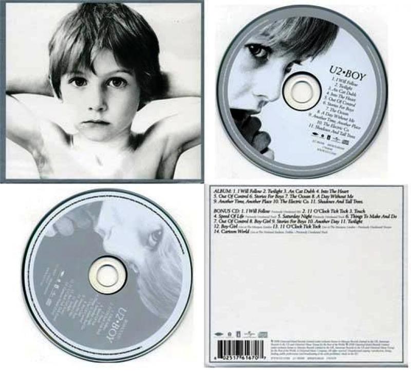 U2 - Boy Deluxe Edition (  CD )