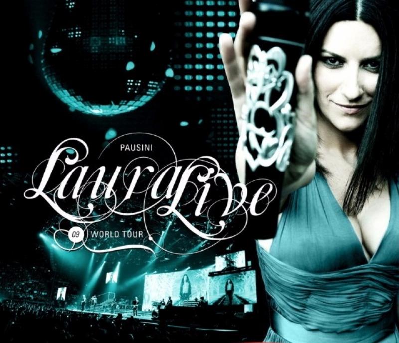 Laura Pausini - Live World Tour - Espanhol CD e DVD