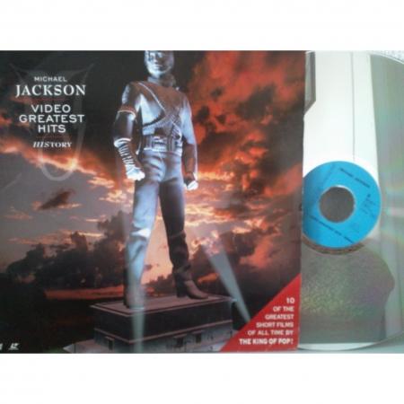 Michael Jackson - History (Greatest Hits) ( LaserDisc )