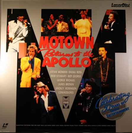 Motown Returns To The Apollo ( LaserDisc Duplo )
