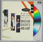 Brazilian Knights and A Lady Djavan Patti Austin Ivan Lins ( LaserDisc )