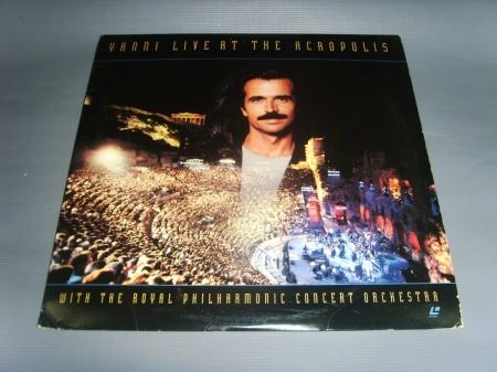 Yanni Live At The Acropolis ( LaserDisc )