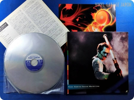 Peter Gabriel Secret World Live ( Laser Disc )