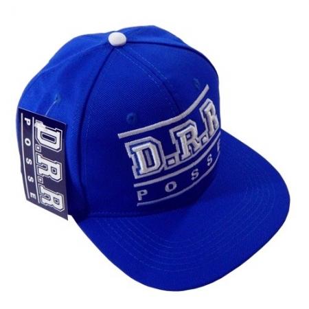 Boné - D.R.R - Azul - Snapback (aberto) PRODUTO INDISPONIVEL