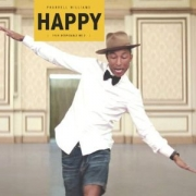 .LP Pharrell Williams - HAPPY VINYL SINGLE (LACRADO)