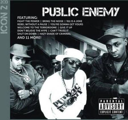 Public Enemy - Icon Explicit Content ( CD Duplo ) PRODUTO INDISPONIVEL