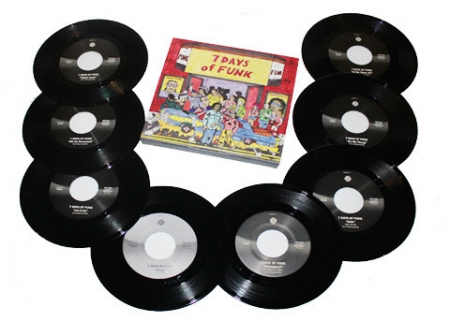 LP Dam Funk & Snoopzilla - 7 DAYS OF FUNK (45 BOX SET)