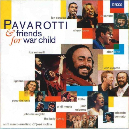 Pavarotti & Friends - For War Child ( CD )