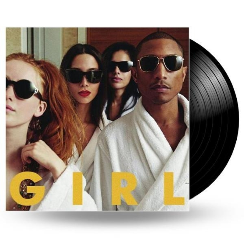 LP Pharrell Williams - GIRL (VINYL IMPORTADO LACRADO)
