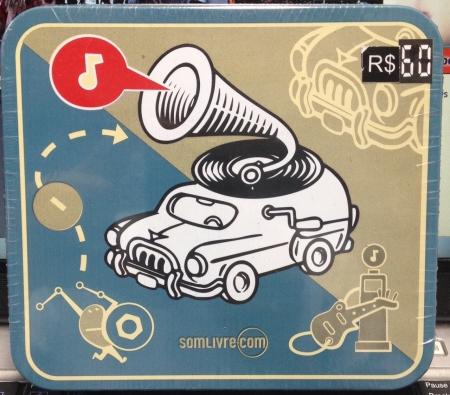 Box Nos Tempos Da Buzina A Discoteca Do Chacrinha ( 4 CDs )