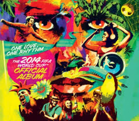 One Love, One Rhythm - The 2014 FIFA World Cup Official ( CD Deluxe )