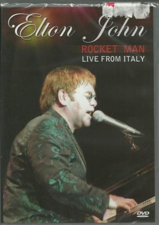 Elton John - Rocket Man Live  Italy  ( DVD )