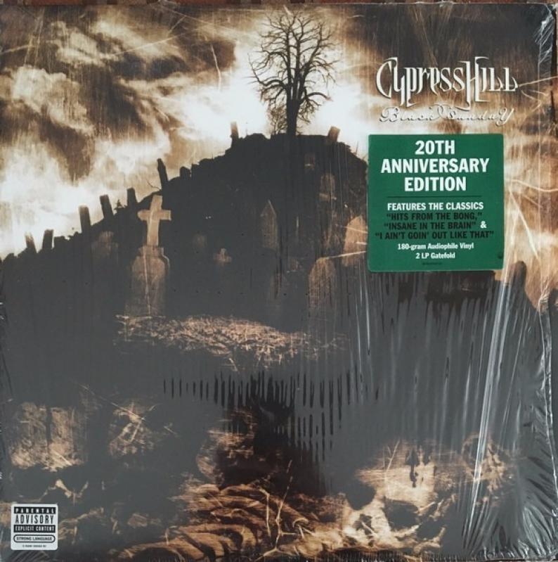 LP Cypress Hill - Black Sunday  20 TH ANNIVERSARY VINYL DUPLO LACRADO