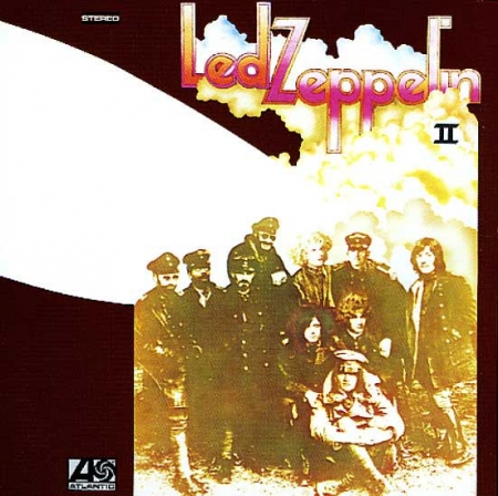 LP Led Zeppelin 2 VINYL 180 GRAMAS IMPORTADO LACRADO