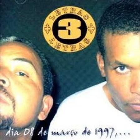 3 Letras - Dia 08 de Março de 1997,... (CD)