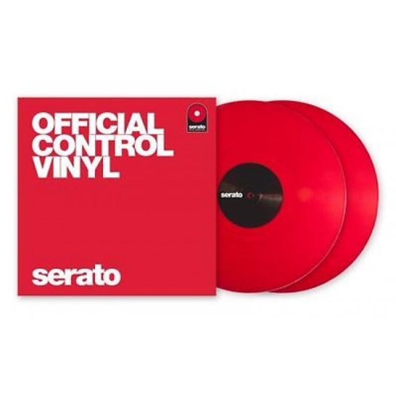 LP TIME CODE SERATO - Vermelho (O Par)