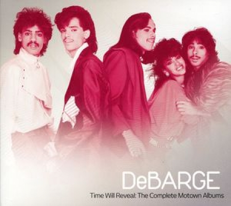 DEBARGE Time Will Reveal - The Complete Motown Albums