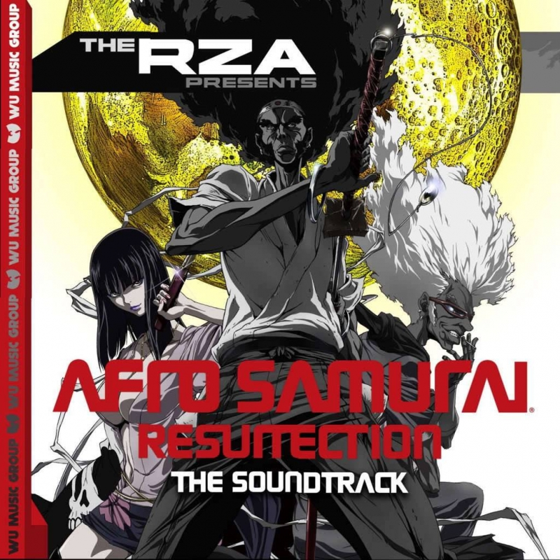 LP RZA Presents - Afro Samurai - Resurrection VINYL DUPLO IMPORTADO LACRADO