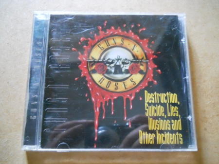 GUNS N ROSES - DESTRUCTION, SUICIDE, LIES, ILLUSIONS AND OTHER INCIDENTES