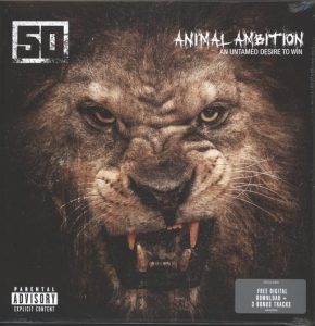 LP 50 Cent - Animal Ambition: An Untamed Desire to Win (VINYL DUPLO IMPORTADO LACRADO)